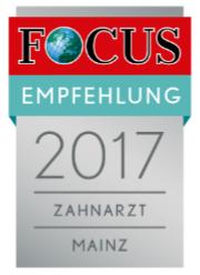 Focus Empfehlungssiegel